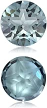 Mysticdrop Natural Sky Blue Topaz Round Shape Texas Star Cut AAA Quality Loose Gemstone Available in 6MM - 9MM