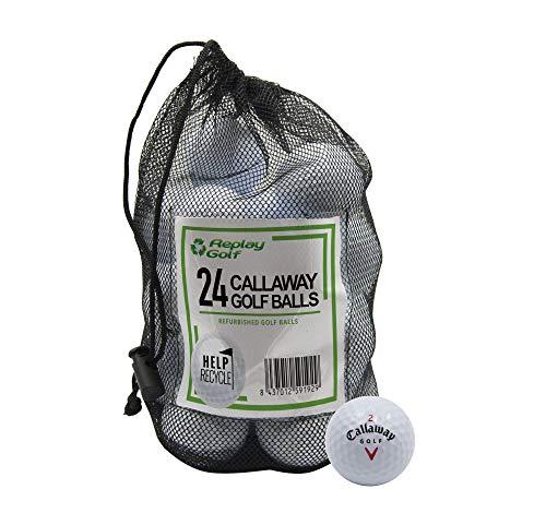 Replay Callaway Models, Refurbished, 24 Ball Mesh Bag