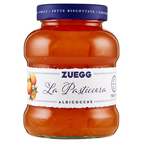 Zuegg - Le Vellutate, Confettura di Albicocche - 6 pezzi da 700 g [4200 g]
