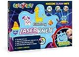 CrazyClay Gummy - Laser-Set