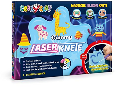 CrazyClay Gummy - Laser-Set