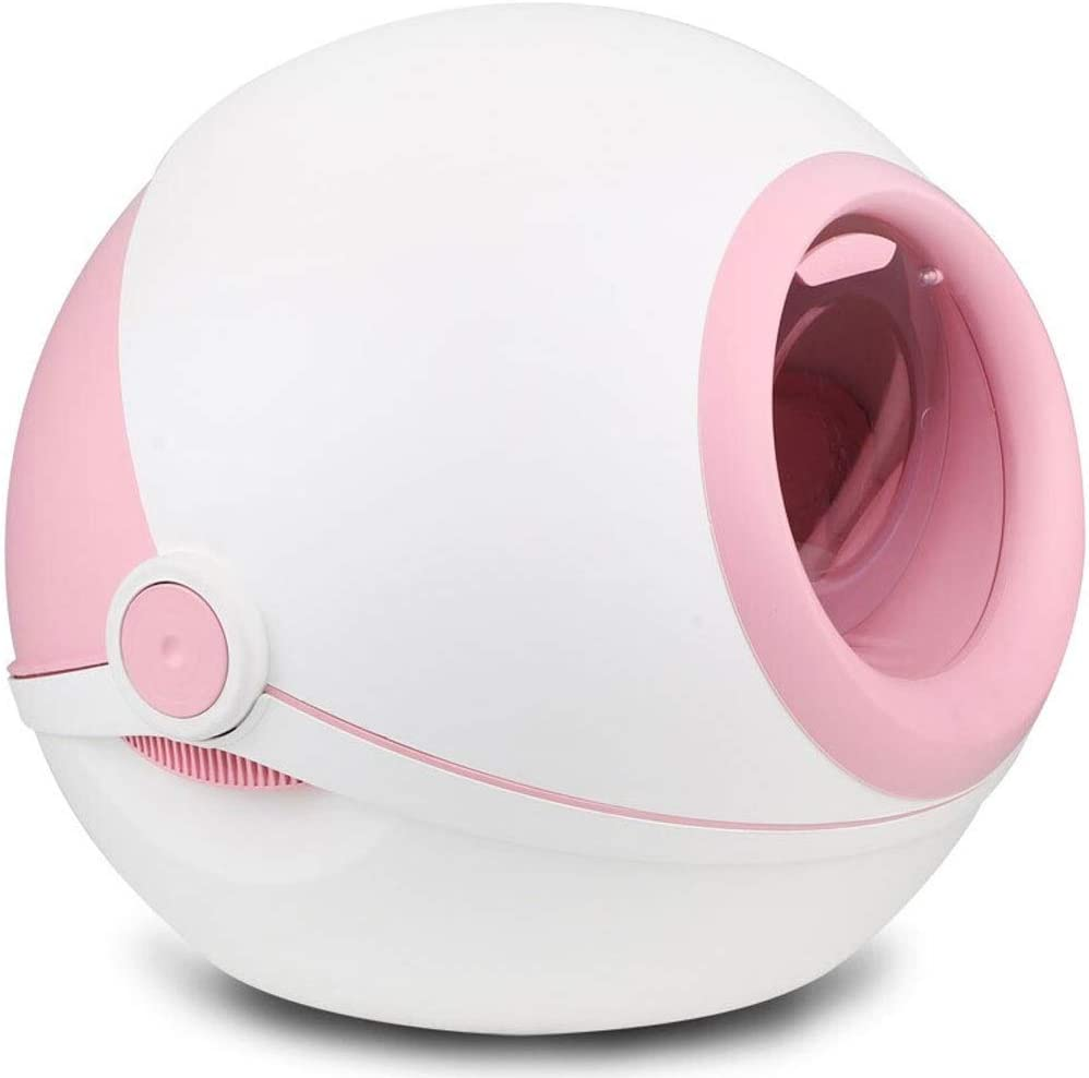 WENMENG2021 Small Litter Box Ranking Max 68% OFF TOP18 Spherical with Fully lid