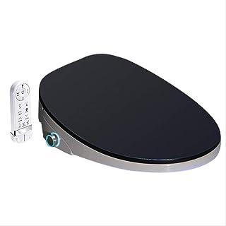 New 4 Color Wc Auto Spa Smart Toilet Seat Temperare Display Smart Knob Toilet Seat Cover Electronic Bidet Toilet Seat Black