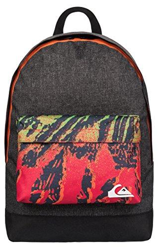Quiksilver Herren Rucksack Everyday Poster Backpack, Dark Grey Heather, 41 x 32 x 12 cm, 1,2 Liter