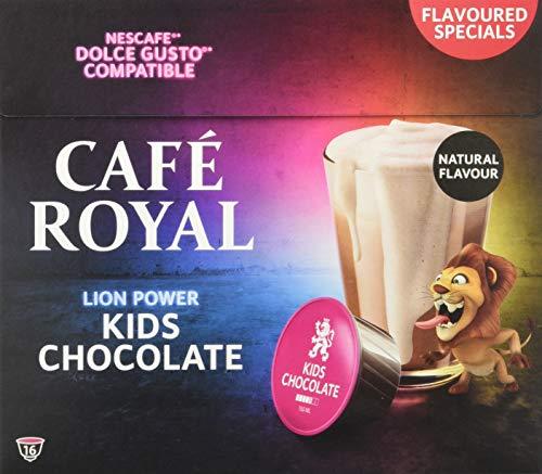 Café Royal Kids Choco 48 Nescafé®* Dolce Gusto®* kompatible Kaffeekapseln, 3er Pack (3 x 16 Kapseln)