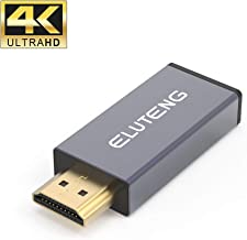USB C to HDMI Adapter, ELUTENG USB Type C to HDMI Adapter (Thunderbolt 3 Compatible) 4K 60Hz Type C 3.1 to HDMI Coupler Female to Male Support Audio and Video Transmission