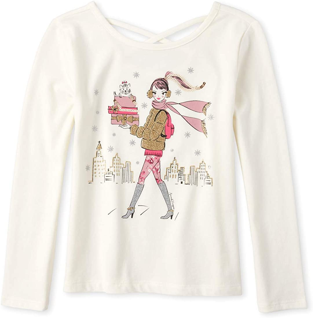 The Children's Place Girls' Big Crossback Top