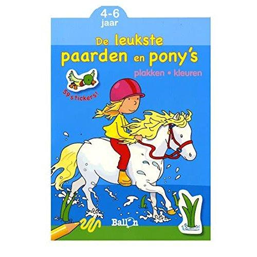 De leukste paarden en pony's (4-6 jaar)