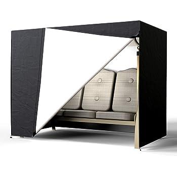 Copertura per Amaca Copertura per Dondolo da Giardino Protettiva Impermeabile Pieghevole 220x125x170cm