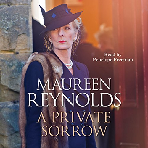 A Private Sorrow audiobook cover art