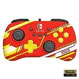 【任天堂ライセンス商品】ホリパッドミニ for Nintendo Switch メカニックレッド【Nintendo Switch対応】