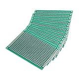 ユニバーサル 基板 両面 PCB回路基板 プリント基板 5x7cm 厚さ1.6mm 12枚セット