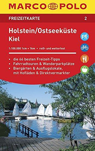 Marco Polo FZK02 Holstein - Oostzeekust: Toeristische kaart 1:100 000
