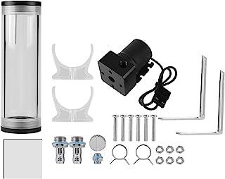 Eboxer R/éservoir /à Eau Cylindre G1//4 R/éservoir de Refroidissement Pompe /à Eau 12V 19W pour PC 210mm