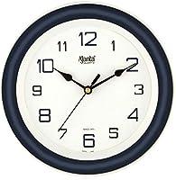 Ajanta AQ-2147 Quartz Glass Abstract Blue Office Clock (214 x 44 x 215 mm )