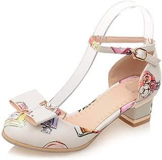 BalaMasa Womens APL12370 Pu Heeled Sandals