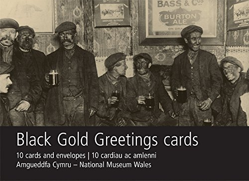 Black Gold Greetings Card Pack: Miners in Pub