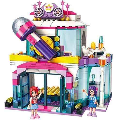 AEM Girls City Friends Princess Fantasy Carrusel Vacaciones Coloridas Juegos de Bloques de construcción Juguetes para niños Paca Compatible, 2014