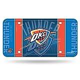 Rico Industries Fan-Shop NBA Oklahoma City Thunder Metallanhänger, Teamfarbe, 6 x 11.5-inches