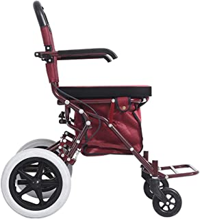 Mobility Aids, Rollator Walker with Seat, Drive Medical Rolling Walker Foldable, Double Brake System, Used for Seniors Wal...