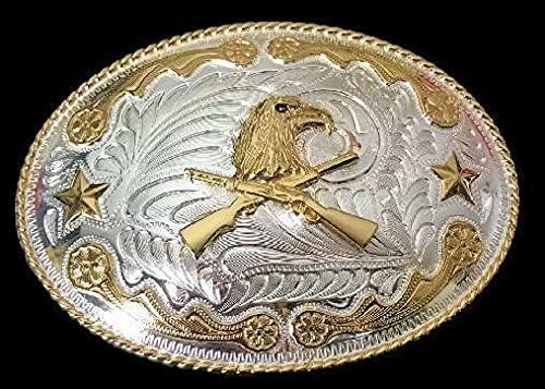 Western Cowboy service Rifle Golden Eagle Buckle High order Belt