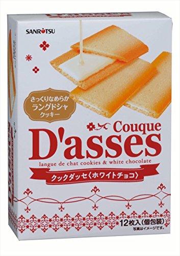 クックダッセ ホワイトチョコ 12枚×6箱