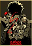 yangchunsanyue Póster De Película De Perro De Reserva De Quentin Tarantino Kill Bill Django Unchained 40x60Cm No Frame (Zr-1729)