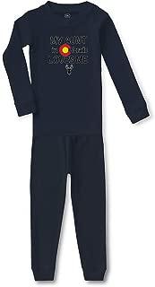 My Aunt in Colorado Loves Me Cotton Boys-Girls Sleepwear Pajama 2 Pcs Set