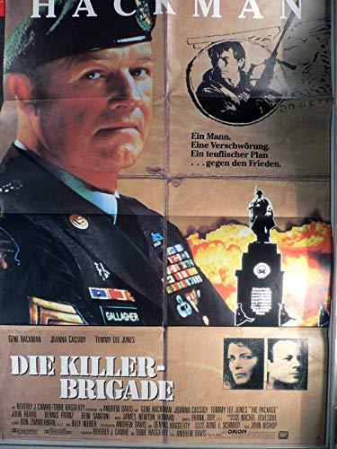 Die Killer-Brigade - Gene Hackman - Filmposter A1 84x60cm gefaltet