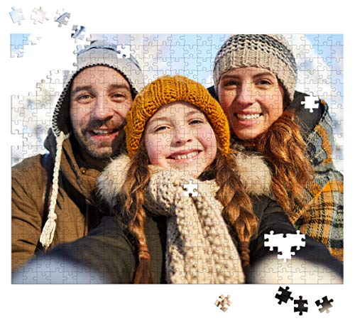 500 Piece Personalized Photo Puzzle