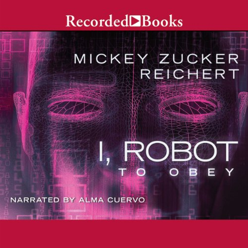 Isaac Asimov's I Robot audiobook cover art