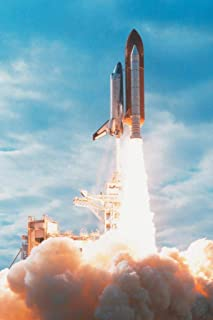 United States Space Shuttle Explosive Blast Off Rocket Launch Photo Cool Wall Decor Art Print Poster 24x36