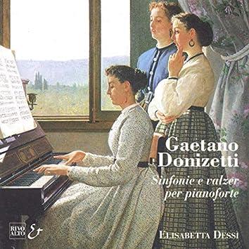 Donizetti: Sinfonie e valzer per pianoforte