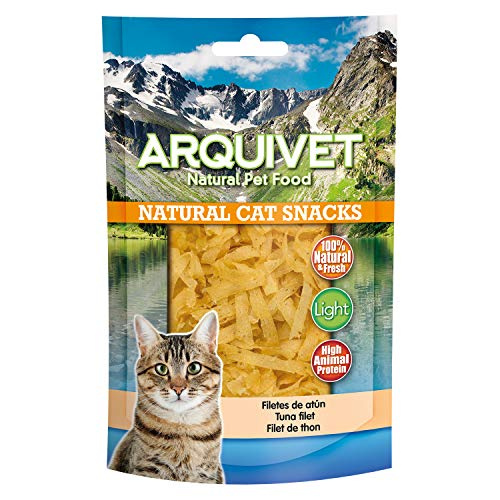 Arquivet Filetes de atún - Snacks gatos - Natural Cat Snacks - 50 g