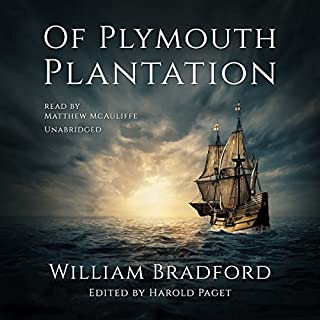 Of Plymouth Plantation audiobook cover art
