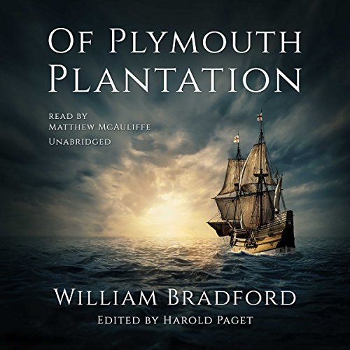 Of Plymouth Plantation  By  cover art