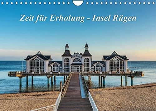 Zeit für Erholung - Insel Rügen/Geburtstagskalender (Wandkalender 2022 DIN A4 quer)