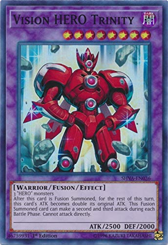 Max 72% OFF Yu-Gi-Oh - Vision Hero Trinity 1st Super Sale special price Rare SHVA-EN036