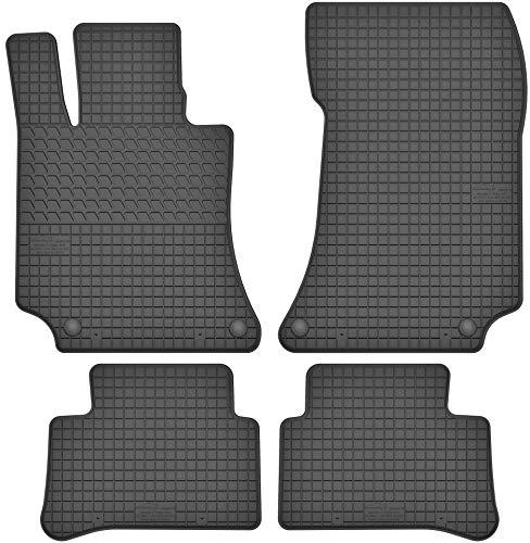 Motohobby Gummimatten Gummi Fußmatten Satz für Mercedes-Benz E-Klasse W212 (ab 2009) / CLS C218 (ab 2011) - Passgenau