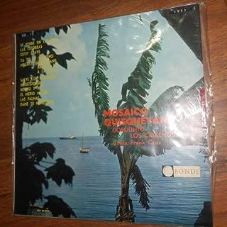 Mosaico Quisqueyano // Conjunto Los Cibaeños, Canta Frank Cruz (Ronde - Vinyl)