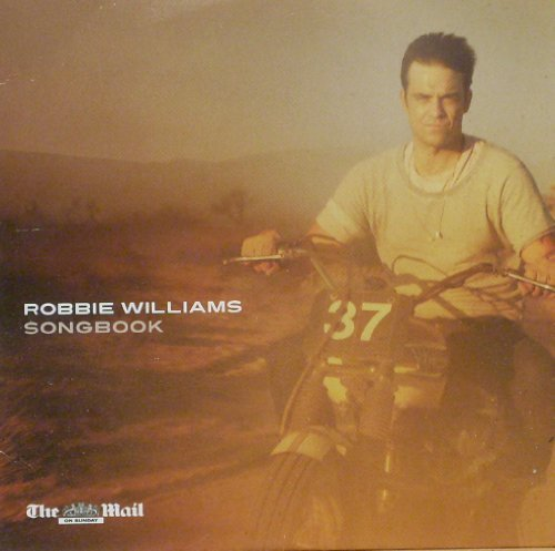 ROBBIE WILLIAMS SONGBOOK. MAIL ON SUNDAY ONLY CD