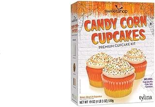 Tylina Sweetshop Candy Corn Cupcake