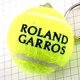 限定 レア ピンバッジ キーホルダー・全仏オープンテニス大会ボール球ロランギャロス