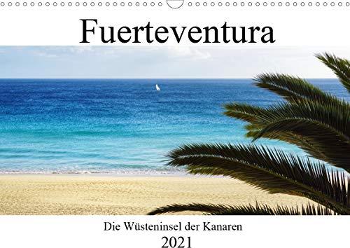 Fuerteventura - die Wüsteninsel der Kanaren (Wandkalender 2021 DIN A3 quer)