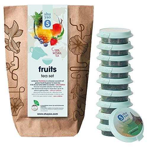 SHUYAO Früchte Tee Collection 10x fruchtige Vitalbomben mit naturreinen Zutaten