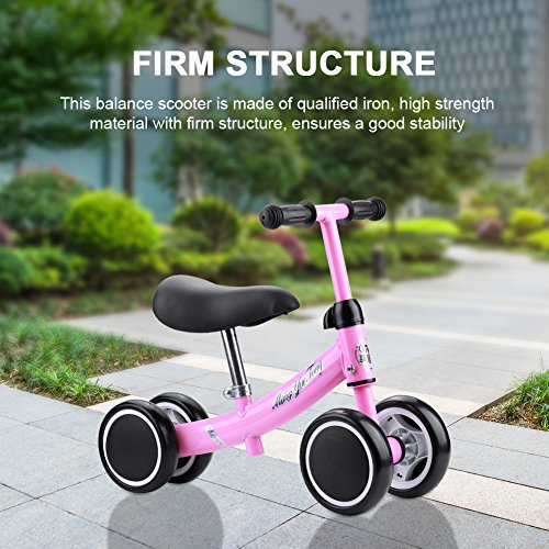 Bicicleta Sin Pedales Bicicleta de Equilibrio Asiento Ajustable