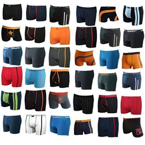 10er Sparpack Herren Boxershorts Retroshorts M L XL XXL XXXL 4XL 5XL 6XL SORTIERT und Übergrößen (SORTIERT 10 Stück, 5XL)