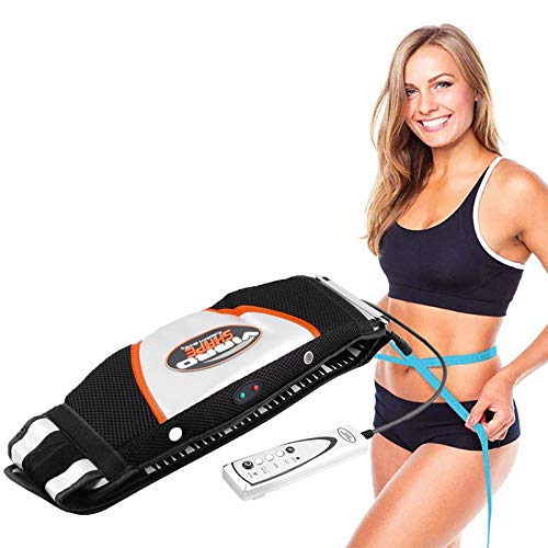 ZFAZF Abnehmen des Massage-Gürtels Elektrischer Vibrations-Saunagürtel Fettverbrenner Gewichtsverlust Hautstraffung Verbessern Sie Die Durchblutung für Frauen & Männer