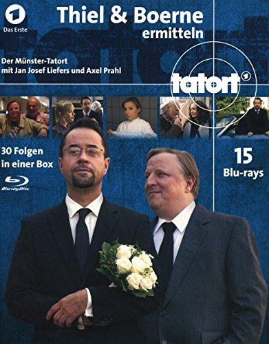 Tatort Münster - Thiel und Boerne ermitteln Fall 1-30 [Blu-ray]