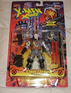 X-MEN X-FORCE CABLE STEALTH FIGURE WITH STEALTH TECH ARMOR